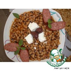 Рецепт: Фасоль по-гречески