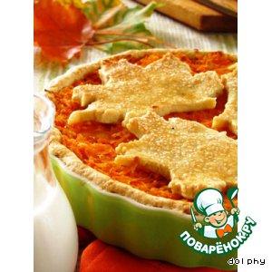 Рецепт: Сладкий морковный пирог