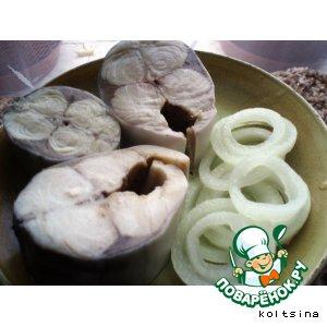 Рецепт: Скумбрия в маринаде