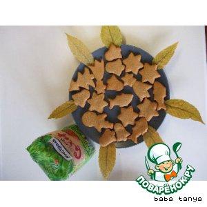 """Рецепт: Ароматное печенье """"Счастливые дети"""""""
