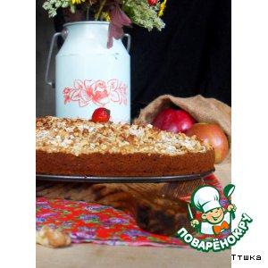 Рецепт: Пирог Осень в деревне