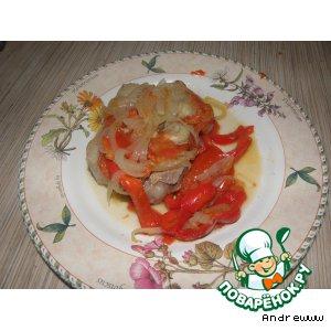 Рецепт: Баранина в собственном соку с овощами
