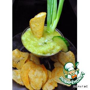 Рецепт: Пикантный огуречный соус