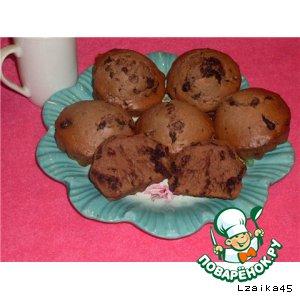 Рецепт: Шоколадные маффины