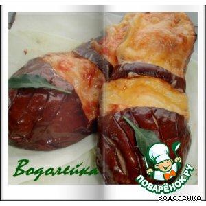 Рецепт: Фаршированные баклажаны
