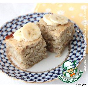 Рецепт Банановый бисквит-кекс - просто, быстро, вкусно