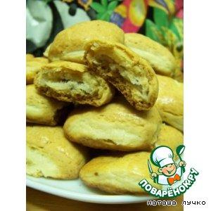 Рецепт: Печенье Творожные подушечки