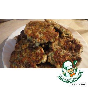 Рецепт: Мясные оладушки