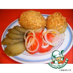 Рецепт: Запеченный картофель Золотой