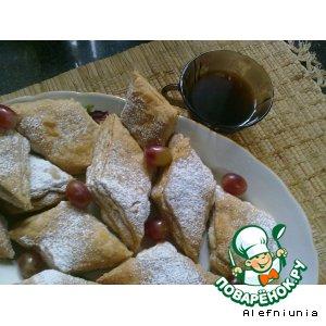 Рецепт: Печенье слоеное