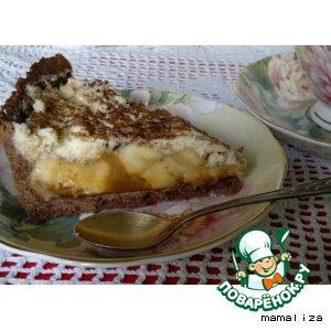 Рецепт: Шоколадно-банановый торт