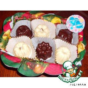 """Рецепт: Конфеты шоколадные """"Ромео & Джульетта"""""""