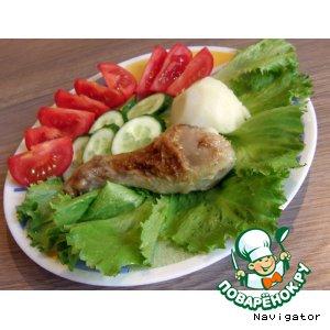 Рецепт: Маринад для нежной и сочной курицы