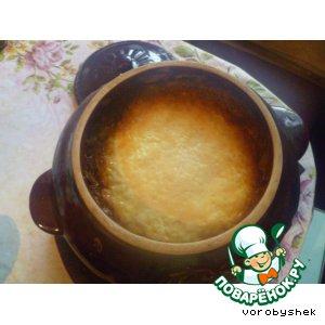 Рецепт: Картошка с печенкой в горшочке  По-домашнему