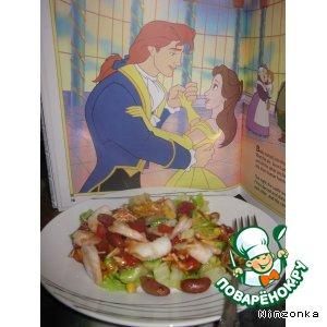 """Рецепт: Салат """"Принцесса"""""""