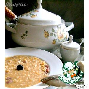 Рецепт: Бобовая похлебка-рецепт от Рыжего Кота