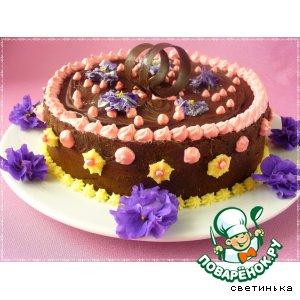Рецепт: Шоколадный торт Служебный шокороман