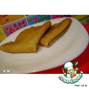 Рецепт: Цельнозерновые блинчики (Whole Wheat Crepes)