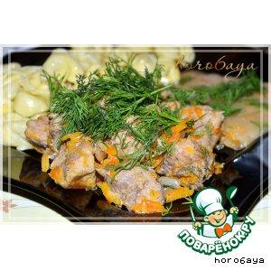 Рецепт: Свинина Хмельная