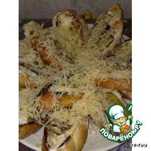 Рецепт: Бутерброды «Метелица»