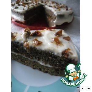 """Рецепт: Торт """"Вацлавский"""" почти по ГОСТу"""