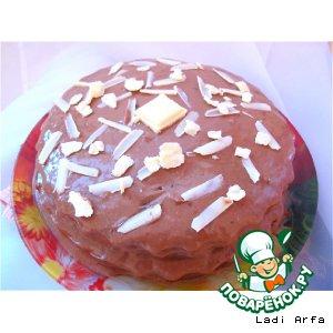 Рецепт: Удивительный фасолевый торт