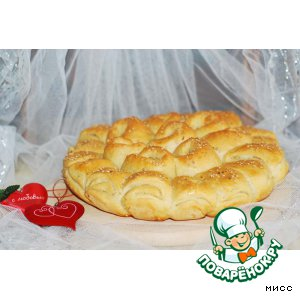 "Рецепт: Хлеб из чечевицы ""Золушкины мечты"""