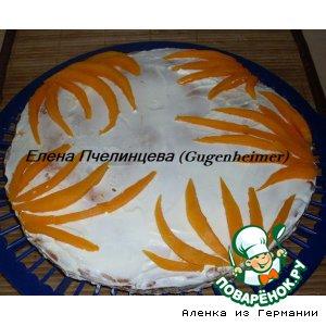 Рецепт: Тыквенно-ванильный пирожок