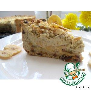 Рецепт: Бананово-яблочный пирог