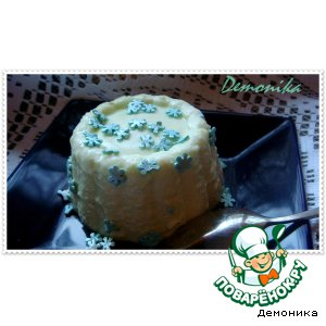 Рецепт: Сливочно-сырное суфле от тeтушки Чарли