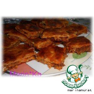 Рецепт: Турецкий слоеный пирог Кeмбе