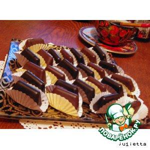 """Рецепт: Конфеты шоколадные несладкие """"Наша жизнь"""" и полусладкие """"Скажи, чииииз"""""""