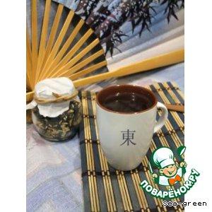 Рецепт: Гэммайтя-коричневый рисовый чай