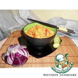 Рецепт: Жареный рис со свининой Кау Пад Му