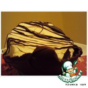Ice cream in chocolate