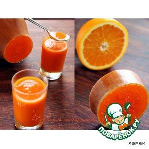 Pumpkin orange jelly