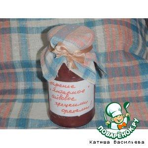 Рецепт: Варенье из айвы, яблок или груш Янтарное