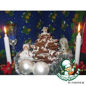 Рецепт: Новогодняя елочка