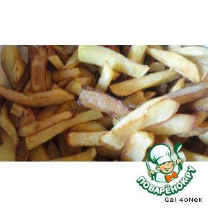 Рецепт: Картофель-фри
