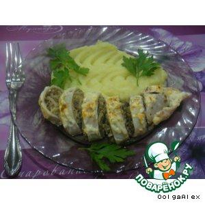 Рецепт: Капустно-мясной кальмар