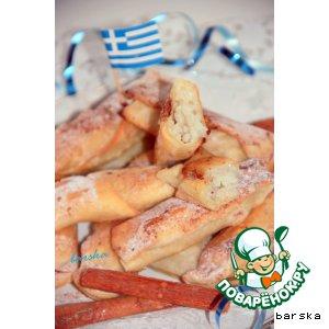 Рецепт: Bourekakia - греческая выпечка для карнавала и многое другое