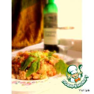 Рецепт: Рыба с рисом по-португальски