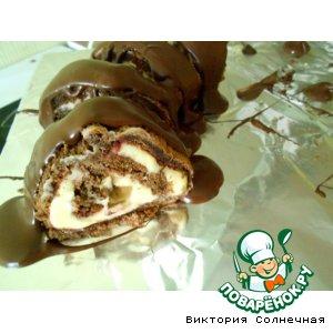 Сырно-шоколадный десерт