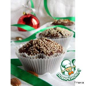 Рецепт: Шоколадные кексы Миссисипи