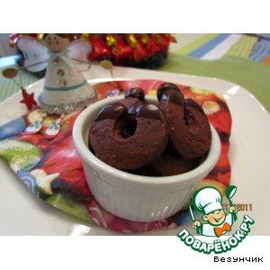 """Рецепт: Печенье """"Шоколадные подковки"""""""