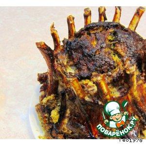 Рецепт: Корона - королевское блюдо для праздника