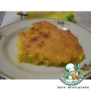 Рецепт: Тыквальник-старорусское деревенское блюдо