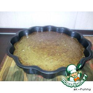 Рецепт: Пирог из куриной печени и риса