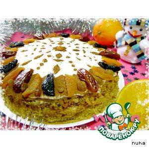 "Торт ""Зимний сон"" – кулинарный рецепт"