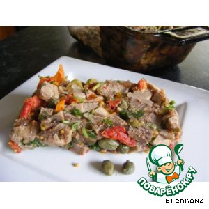 Рецепт: Тосканский террин из языка